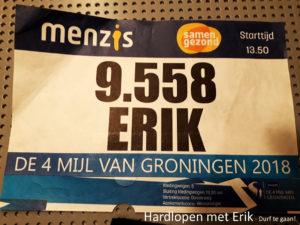 Morgen is de 4 mijl van Groningen!